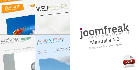 Another 4 joomfreak manuals are done