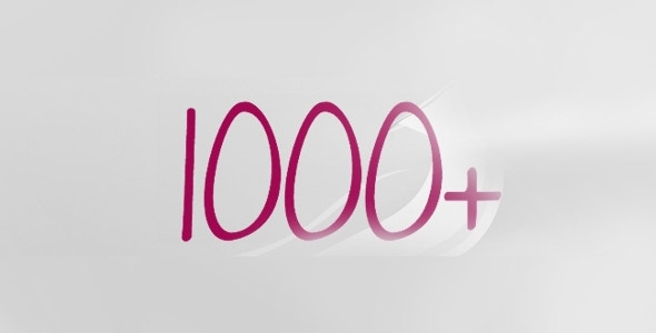 Thank you 1040 times!