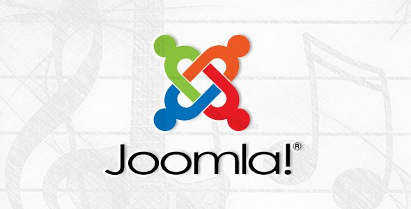 Joomla website background music